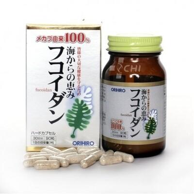 Фукоидан-противомикробное и общеукрепляющее / Orihiro / Японский БАД