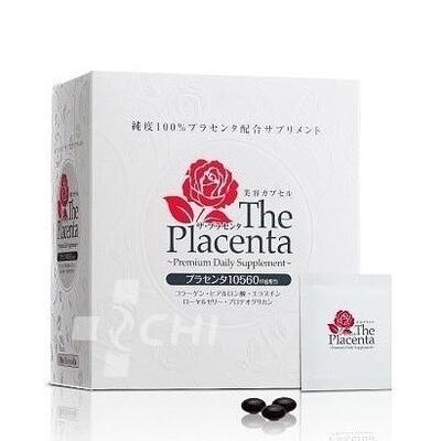 Плацента 10560 мг (The Placenta) /красота и молодость кожи/ Metabolic / Японский БАД
