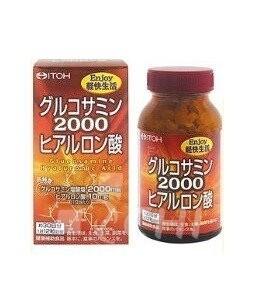 Супер Глюкозамин 2000 c гиалуроновой кислотой-лечения суставов / ITON / Японский БАД