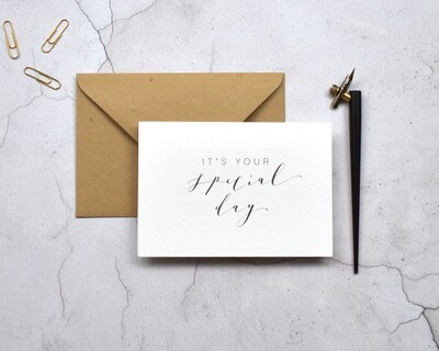 Bespoke It's Your card