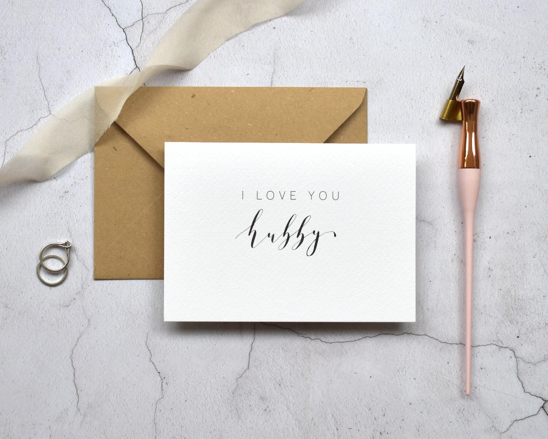 Bespoke I Love You card