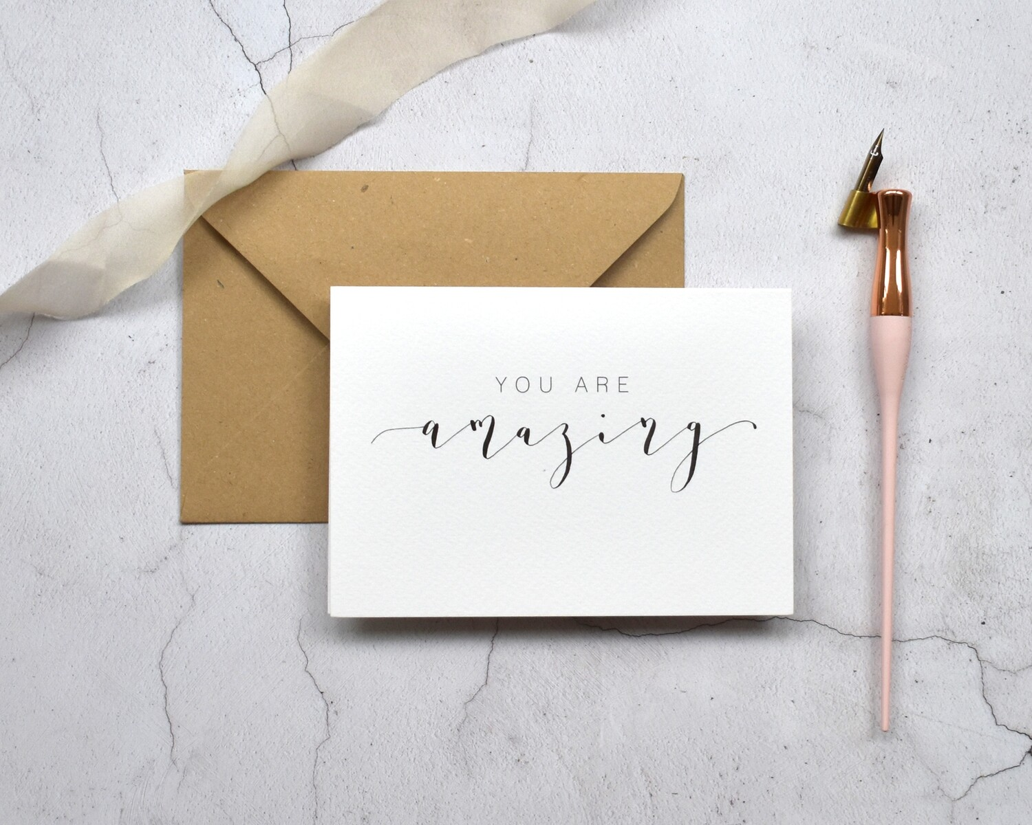 Bespoke You Are card