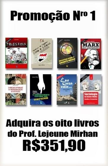 Mercado, Sociologia, Geopolítica, Gaza, Eleições, Relatos e Palestina e Marx