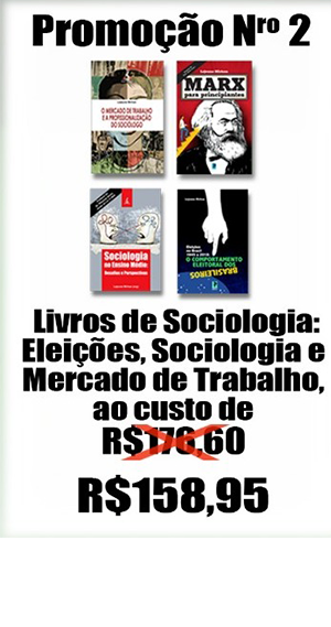 Livros de sociologia: Eleicoes, sociologia e mercado de trabalho e Marx