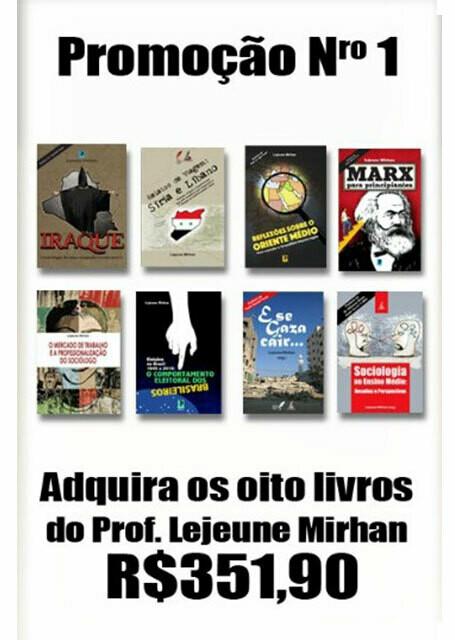 Adquira os 8 Livros do Professor Lejeume MIrhan
