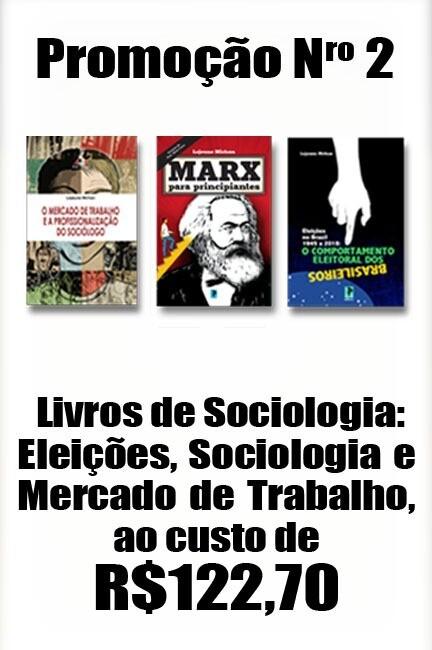 Livros de Sociologia: Eleições, Sociologia e Mercado de Trabalho