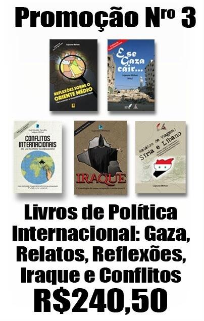 Livros de Política Internacional: Gaza, Relatos, Reflexões e Iraque