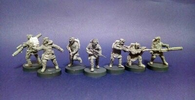 Rebel Set - Battle of Hoth (7 figures)