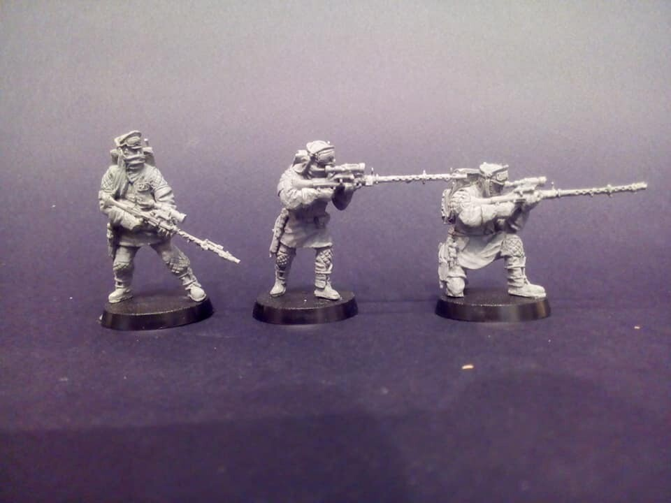 Rebel snipers (Battle of Hoth - 3 figures)