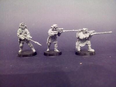 Rebel snipers (Battle of Hoth - 3 figures)