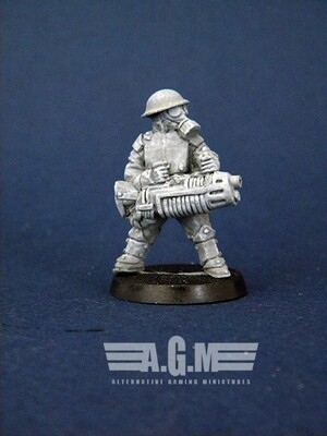 Plasma Gun. US guard