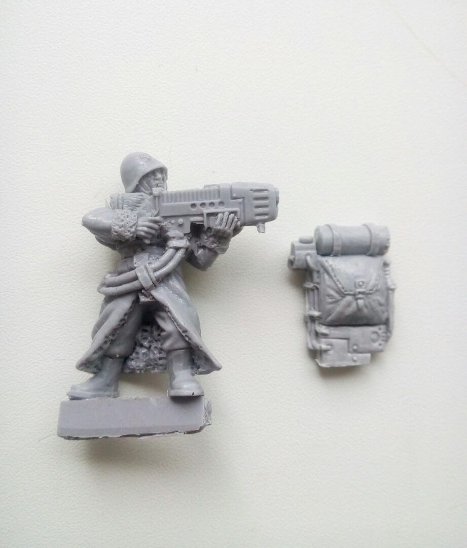 Ice warrior with Plasma Gun  (Proxy Valhalla ) random  - 1 piece