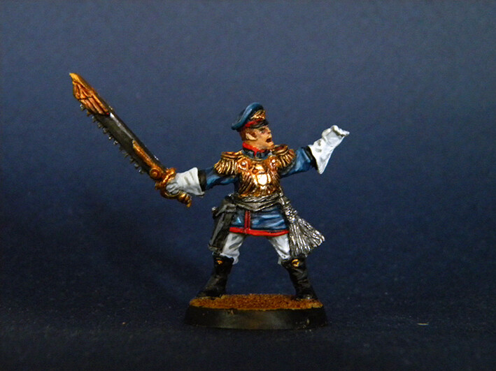 Officer Iron Guard ( Proxy Mordian Guard )