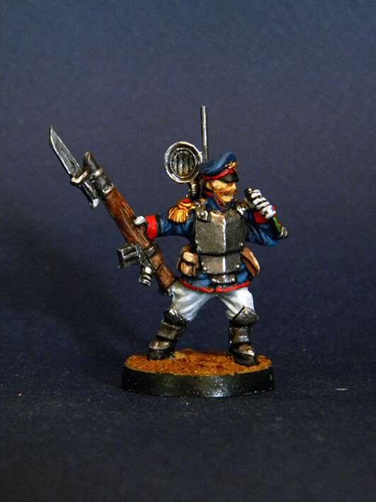 Vox-саster.Iron Guard ( Proxy Mordian Guard )