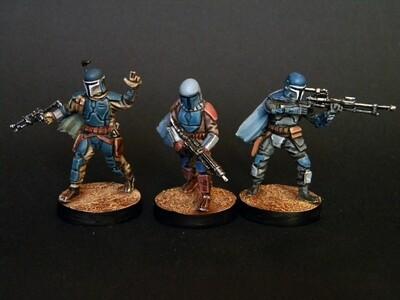 Mandalorians (3 figures)