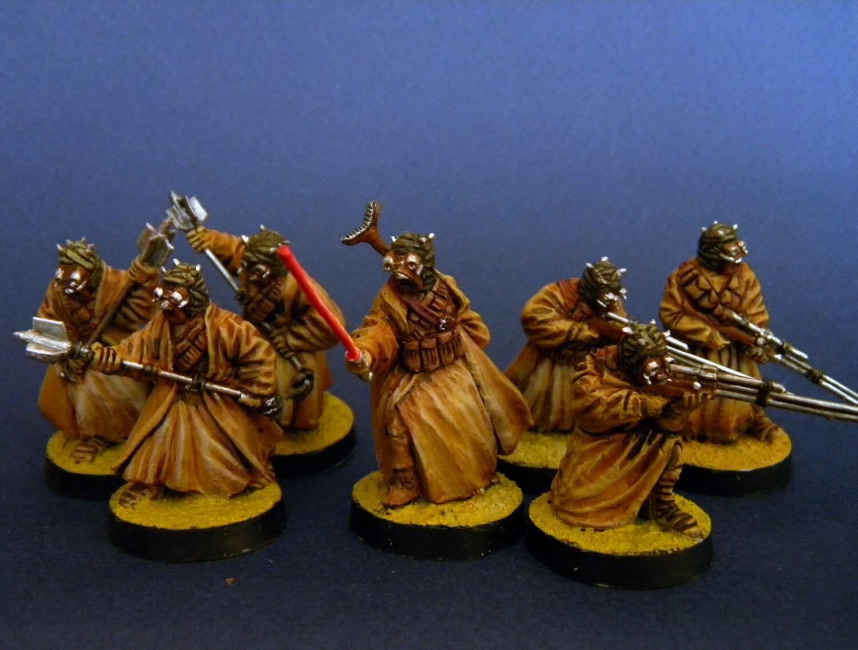 Tusken Raiders ( 7 miniatures)