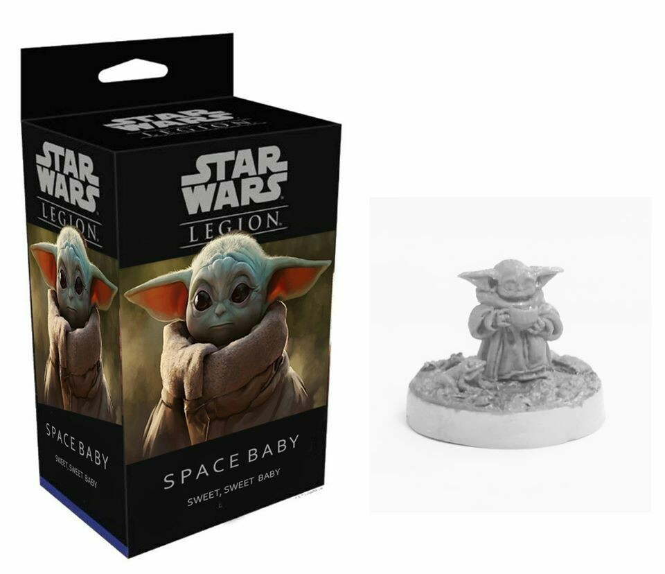 Space baby (4 different miniatures inside the box)