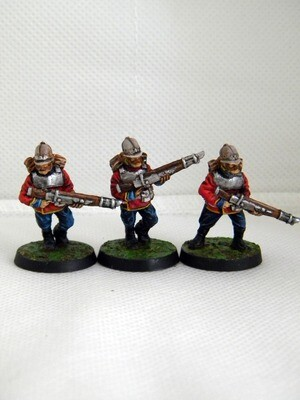 Colonial Guard Infantry  3 pieces