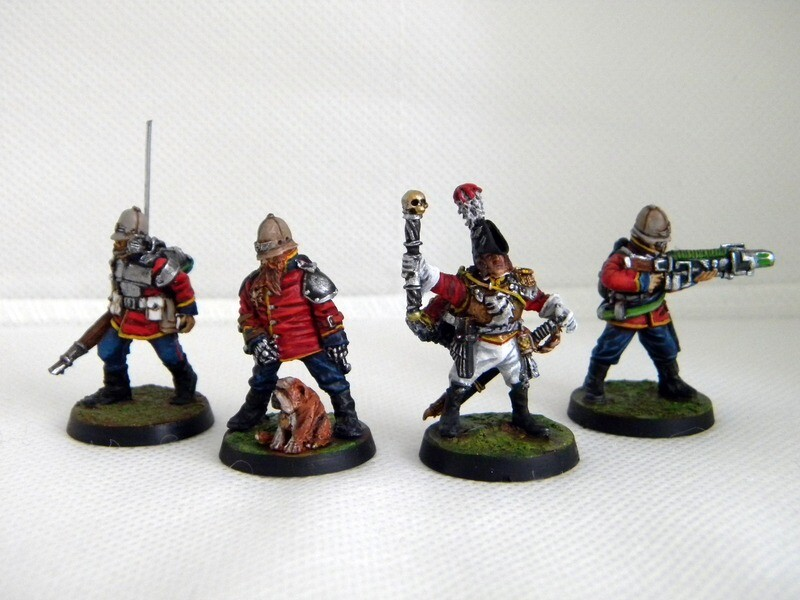 Command Squad the colonial guard