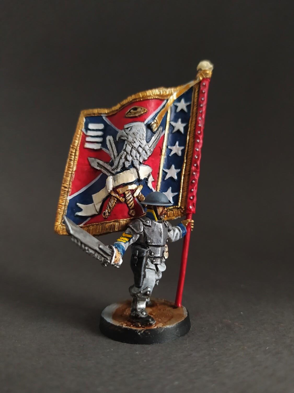 Standard bearer US guard