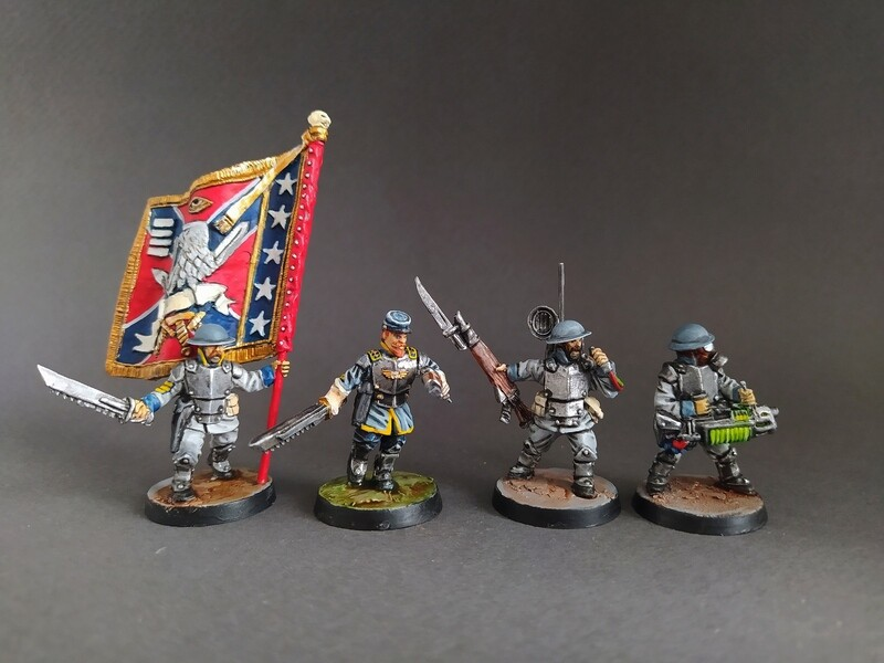 Command Squad Confederation of Southern Territories.