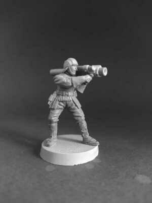 Guard Naboo. Heavy Weapon Guardsman