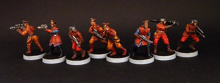 Guard Naboo (7 figures)