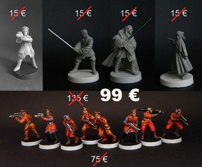 HQ + Guard Naboo (11 figures)