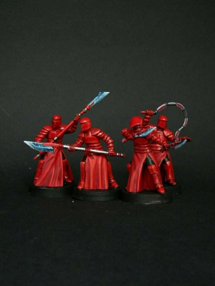 Elite Praetorian Guard. set 4 miniatures