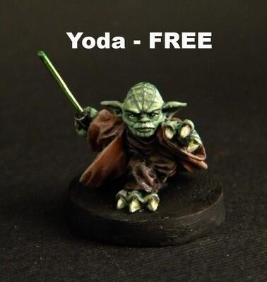 Master Yoda. FREE