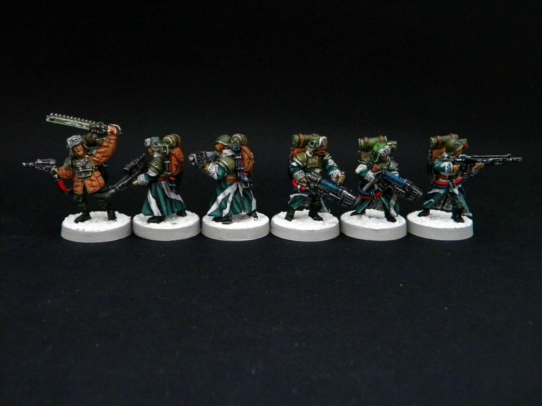 Ice warriors - Heavy Infantry Platoon (Proxy Valhalla ) 6 miniatures