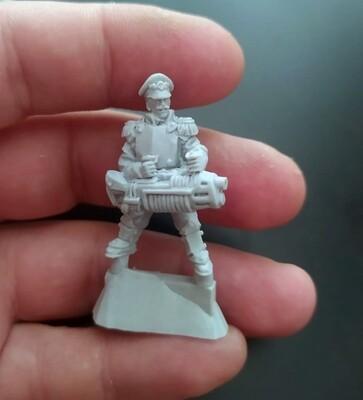 Plasma Gun №2 . Iron Guard ( Proxy Mordian Guard )