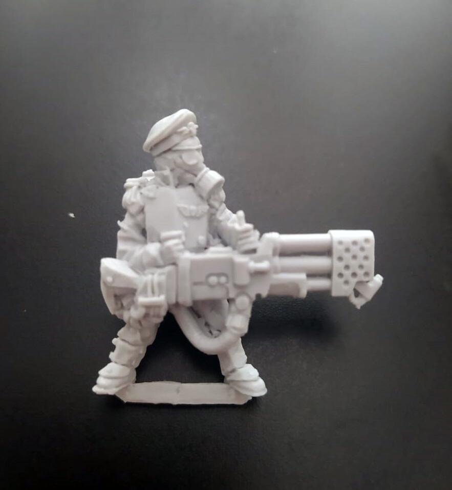 Flamethrower. Iron Guard ( Proxy Mordian Guard )