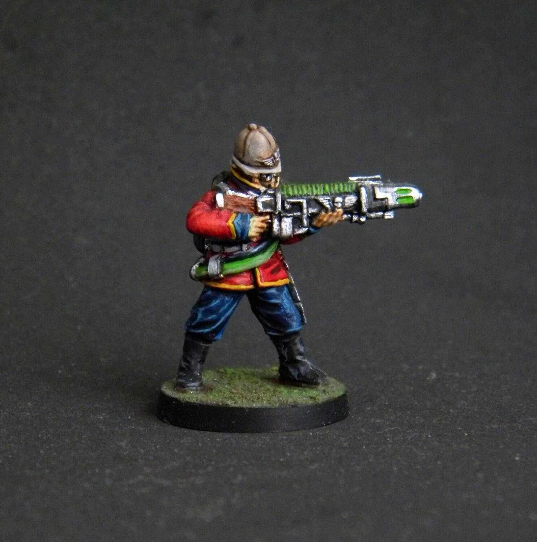 Plasma Gun. Сolonial guard