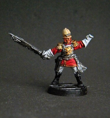 Colonial Guard officer