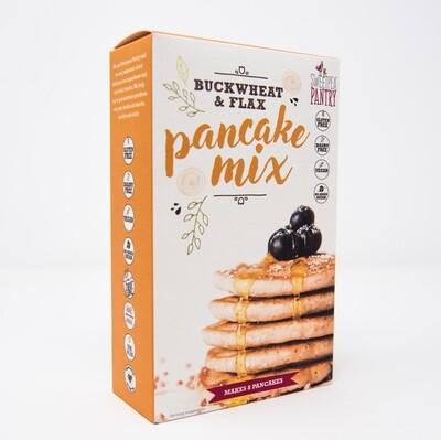 Pancake Mix with buckwheat, teff and flax (gluten free)