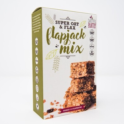 Flapjack Super Oat Mix with quinoa and flax (gluten-free)