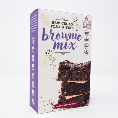 Brownie Mix with raw cacao, teff and flax (gluten free)