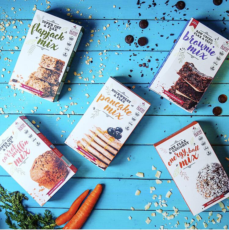 Baking Range Selection - the complete range (6 gluten-free mixes)