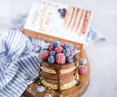3 pack Special Pancake Mix Bundle - with buckwheat and flax (gluten free) - Winner on 'BBC The Customer is Always Right'