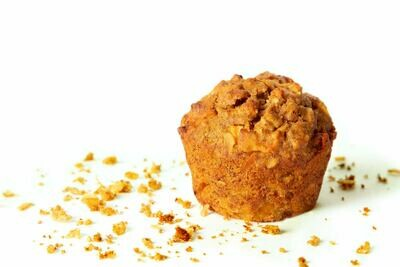 Apple and Cinnamon Muffin Mix Mix with oats and flax (gluten-free)