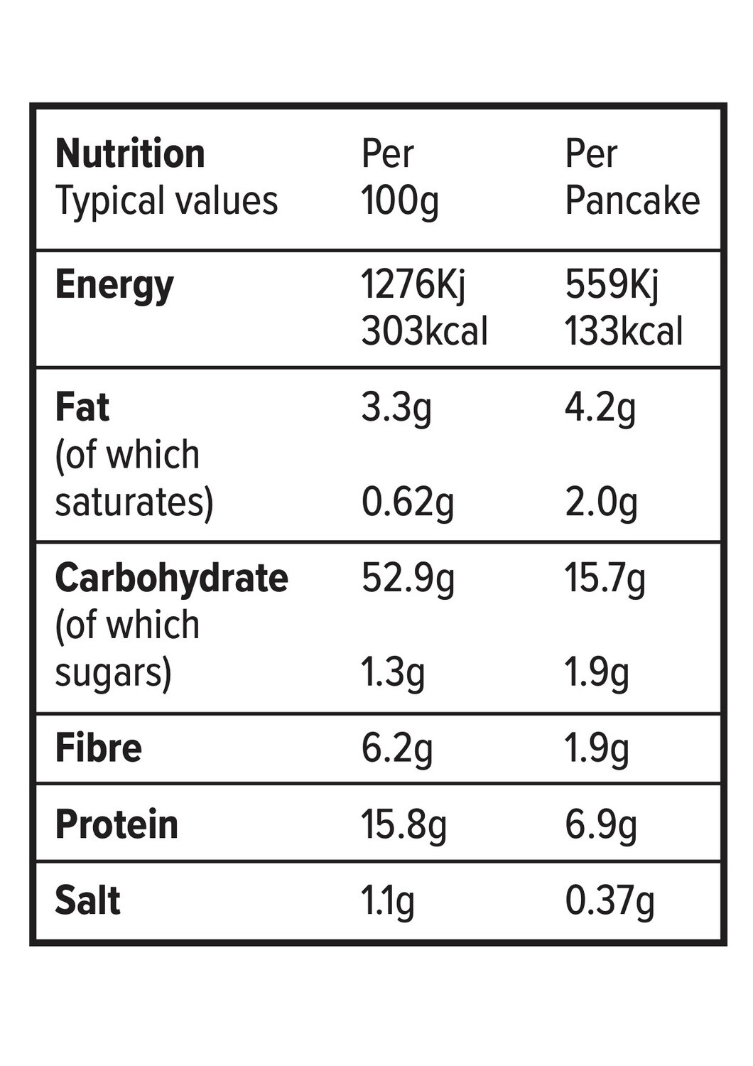 NEW! Stacks of Goodness Double Chocolate Protein Pancake Mix 200g