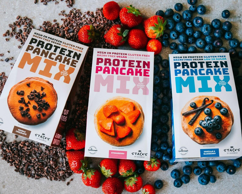 Stacks of Goodness Protein Pancake Bundle (3 mixes)