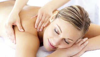 Aroma Therapy Massage Therapy Session with Back Salt Scrub