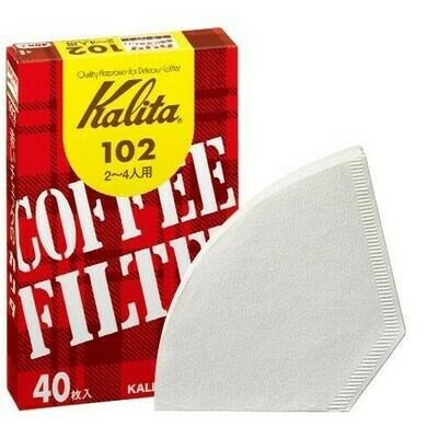 Filtros Kalita 102 caja 40 Unds.