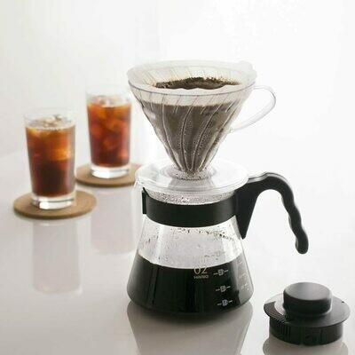 Hario V60 set para servir café, policarbonato