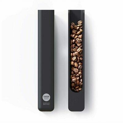 Cuchara de café Savour – aluminio sólido con acabado anodizado negro
