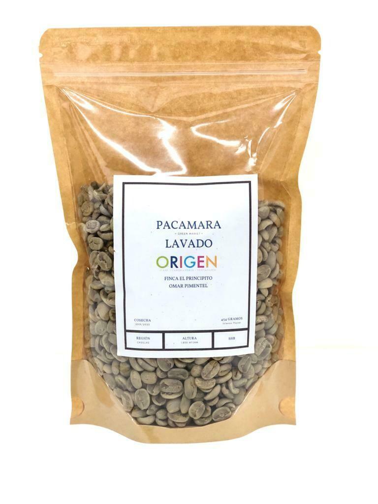 PACAMARA LAVADO 454g. (café verde)