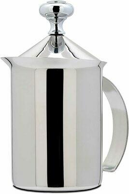 Espumador de leche de acero inoxidable manual
