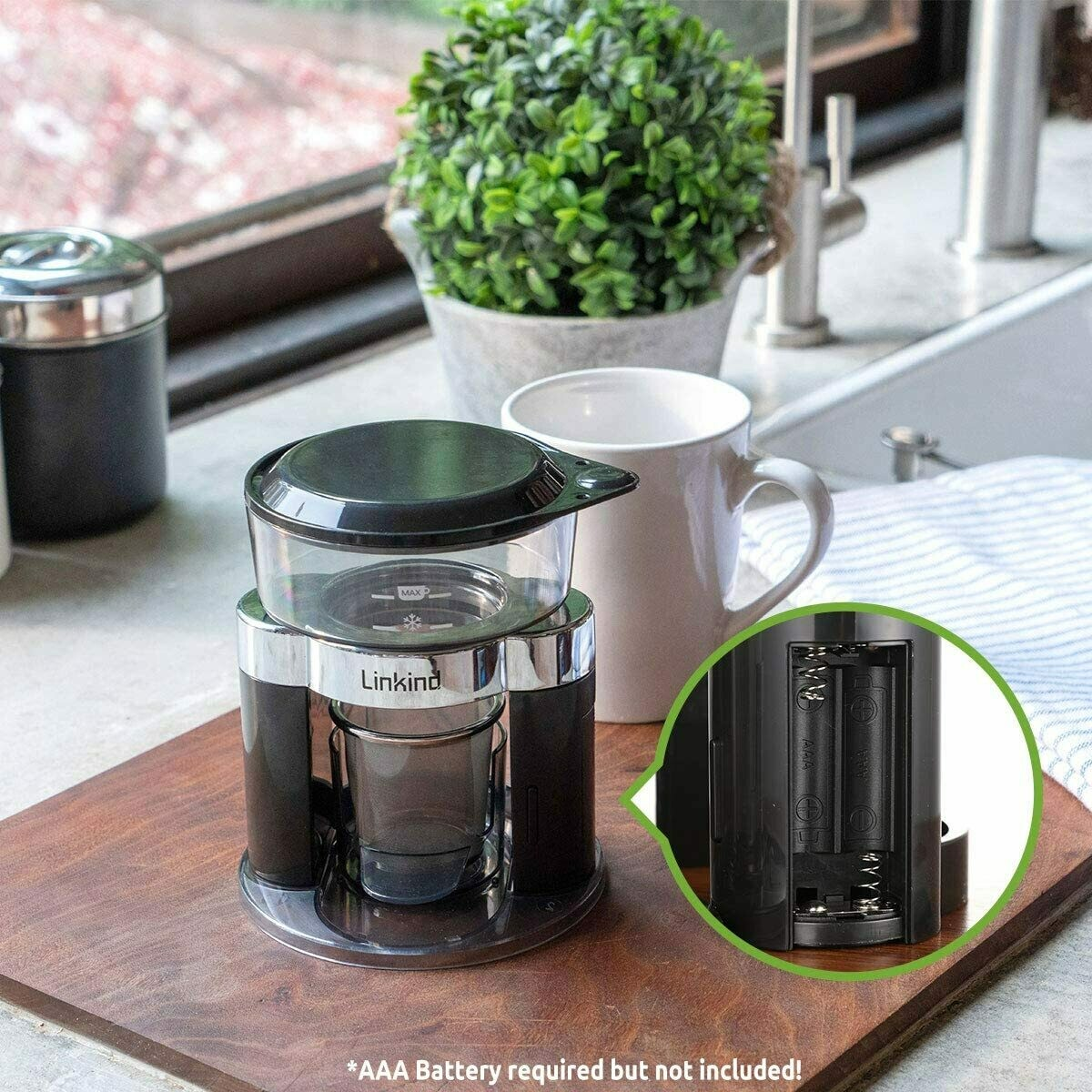 Linkind Automatic Pour Over Coffee Make